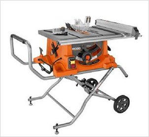 Ridgid ZRR4513 15 Amp 10 in. Portable Table Saw