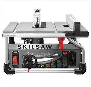 SKILSAW SPT70WT-01 10″ Portable Worm Drive Table Saw