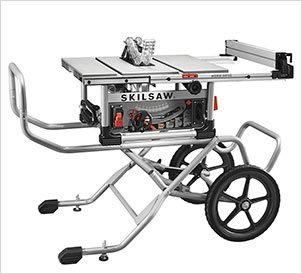 SKILSAW SPT99-11 10″ Heavy Duty Worm Drive Table Saw