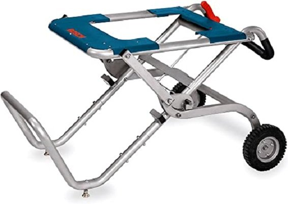 Best Portable Table Saw Stand Reviews - Bosch TS2100 Gravity Rise Table Saw Stand