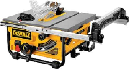 DW745 10-Inch Compact Job-Site Table Saw with 20-Inch Max Rip Capacity