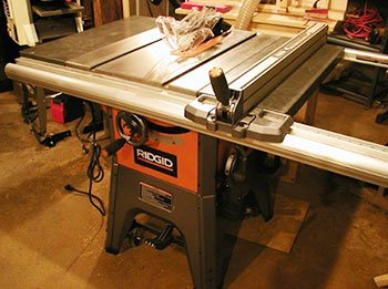 Properly Setup and Tune New Table Saw