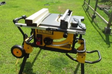 Portable Jobsite Table Saw
