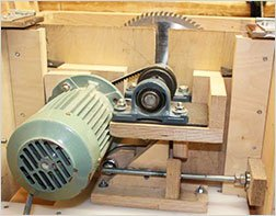 table saw Motors and Gears
