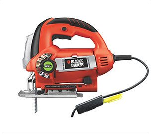 BLACK+DECKER JS670V LineFinder Orbital Jig Saw