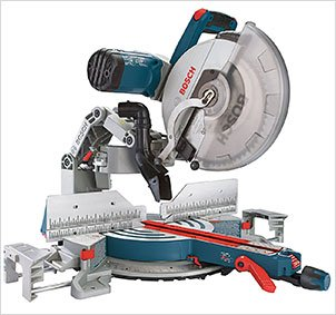 Bosch Compound Miter Saw GCM12SD - 120-Volt, 12-Inch Dual Bevel Glide Miter Saw