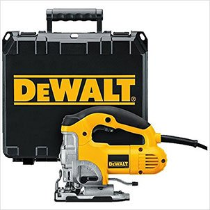 DEWALT DW331K 6.5 Amp Top Handle Jig-Saw