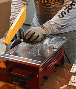 Tile saw Safety Tips