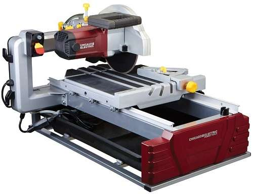 Chicago Pneumatics 10-Inches Industrial Tile Saw